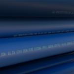 blue water pipe EN12201-2