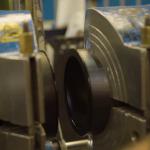 Black PE pipe welding